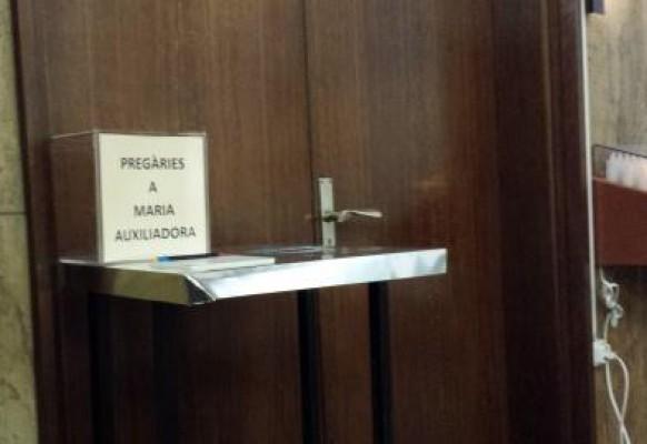 Urna de pregàries Maria Auxiliadora