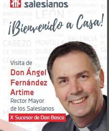 Visita del Rector Major dels Salesians D. Ángel Fernández Artime