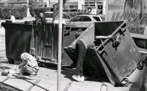 Pobreza en la calle