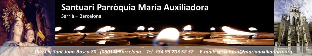 Santuari Parròquia Maria Auxiliadora
